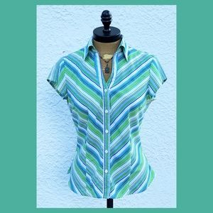 🍁FINAL PRICE🍁 Fred David Button Front Blouse
